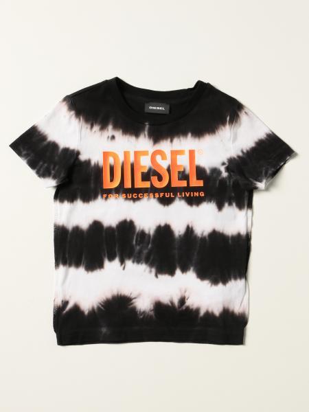 Diesel 扎染棉质 T 恤
