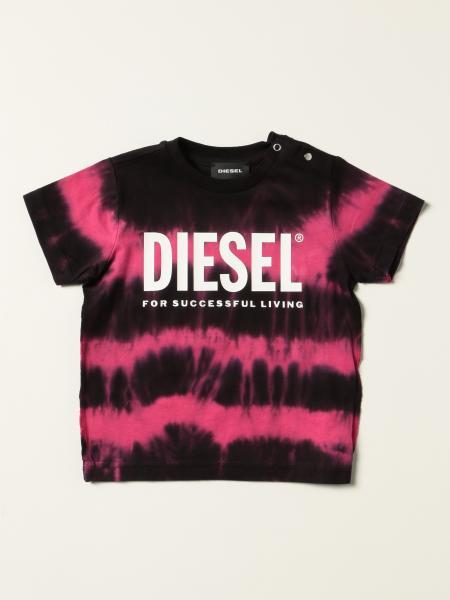 T-shirt Diesel in cotone tie dye