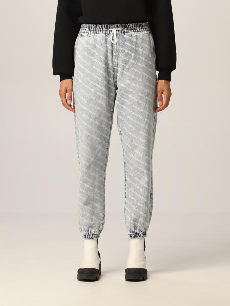 Alexander Wang jogging pants with all over logo