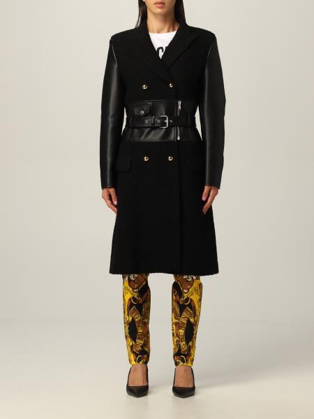 Cappotto a doppiopetto Moschino Couture