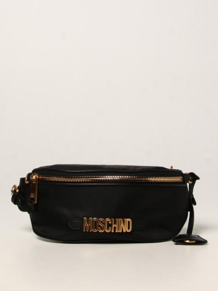 Moschino: Moschino Couture Logo 尼龙腰包