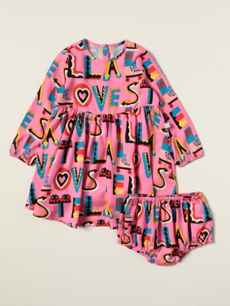 Stella McCartney dress with lettering
