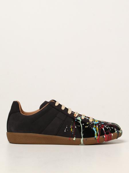 Maison Margiela uomo: Sneakers Maison Margiela in nabuk