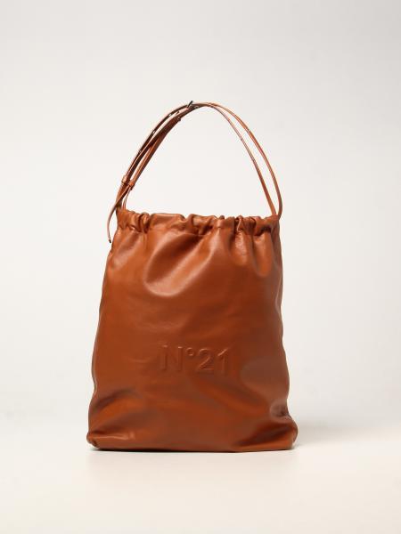 N° 21: Eva bag N ° 21 in leather with logo