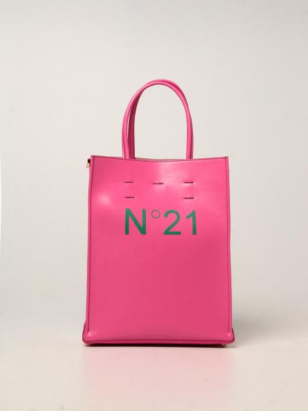 N ° 21 bag in synthetic leather