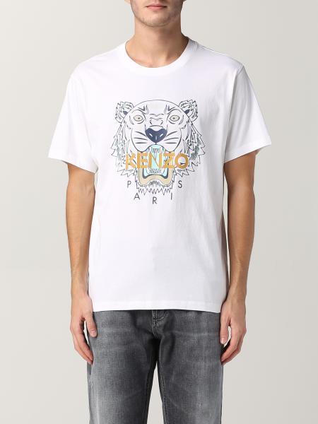 Kenzo uomo: T-shirt Kenzo con tigre