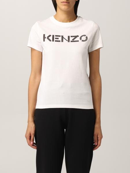 Kenzo donna: T-shirt Kenzo con logo