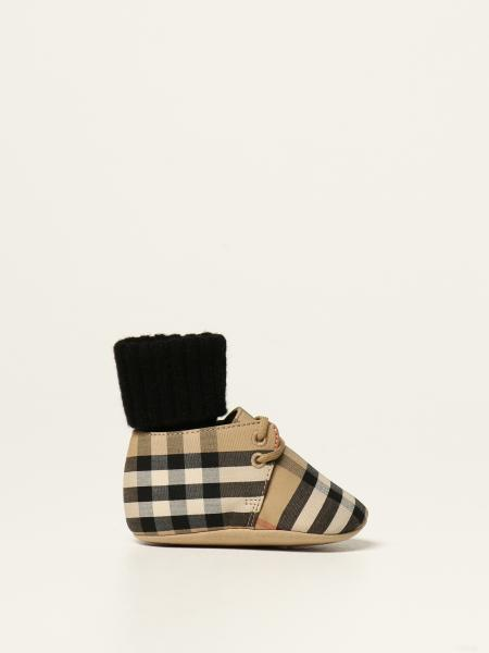 Burberry shoe in check canvas