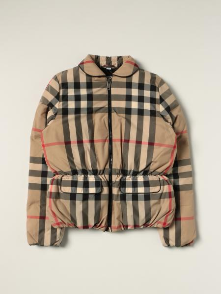 Burberry nylon check jacket