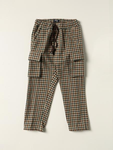 Il Gufo checkered jogging trousers