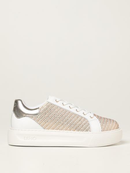 Sneakers Liu Jo in pelle con strass