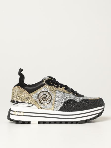 Liu Jo: Sneakers maxi Liu Jo glitter
