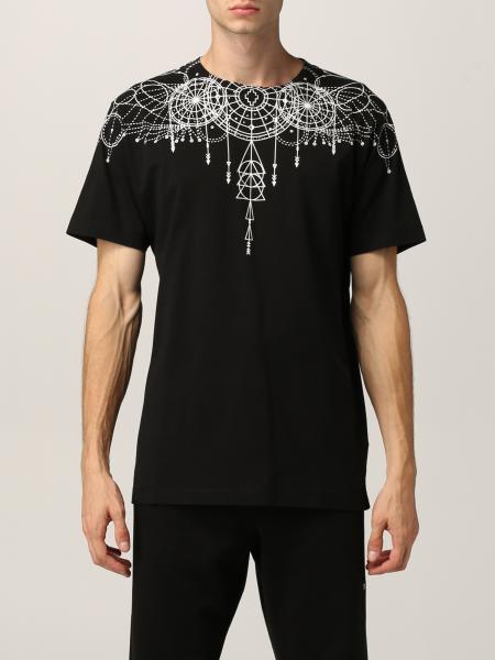 T-shirt Marcelo Burlon in cotone con stampa grafica