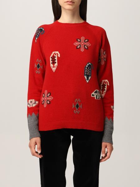 Maglia Etro in lana e cotone con intarsi Paisley