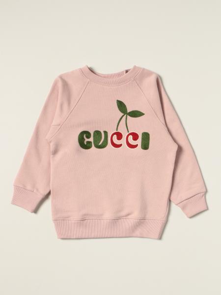 Gucci: Gucci crewneck jumper with cherry logo