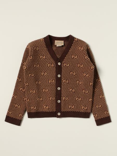 Cardigan Gucci in lana GG all over