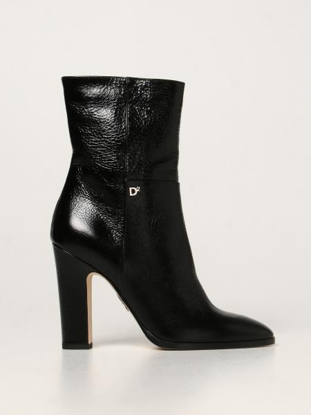 Dsquared2 ankle boot in naplack