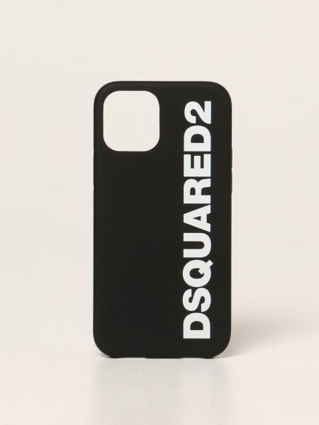 Dsquared2 men: Dsquared2 iPhone 12 silicone cover