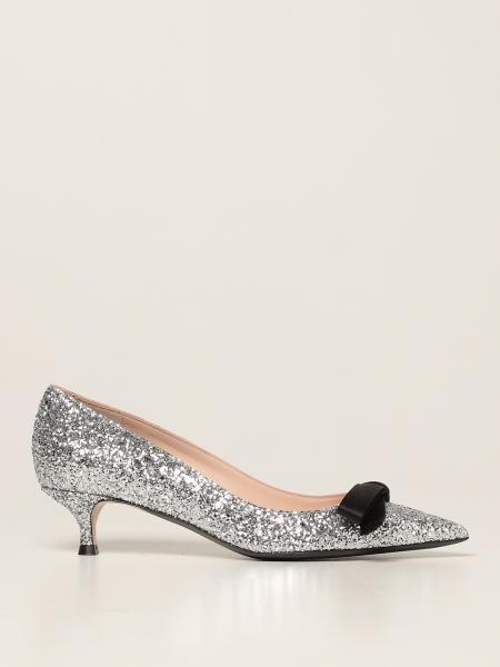 N° 21: N ° 21 glitter court shoes