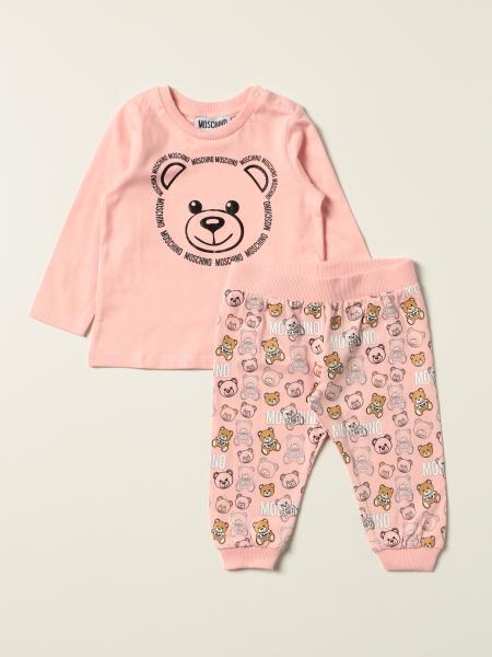 Set t-shirt + pantalone jogging Moschino Baby