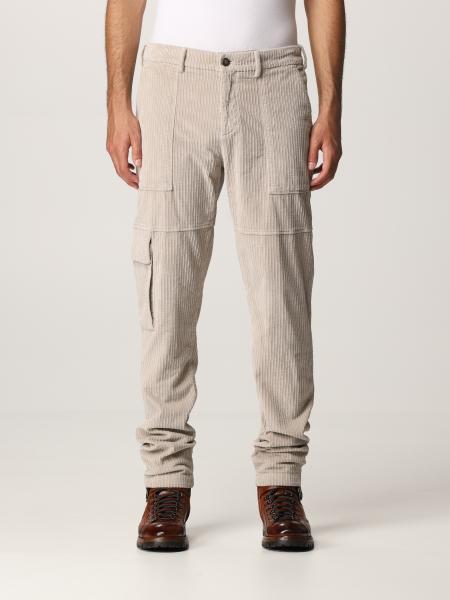 Pantalone cargo Eleventy in velluto a coste