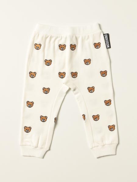 Pantalone jogging Moschino Baby con teddy all over