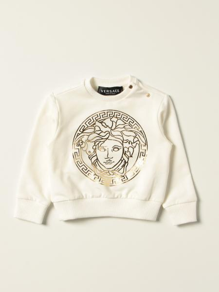 Versace Young jumper with medusa head print