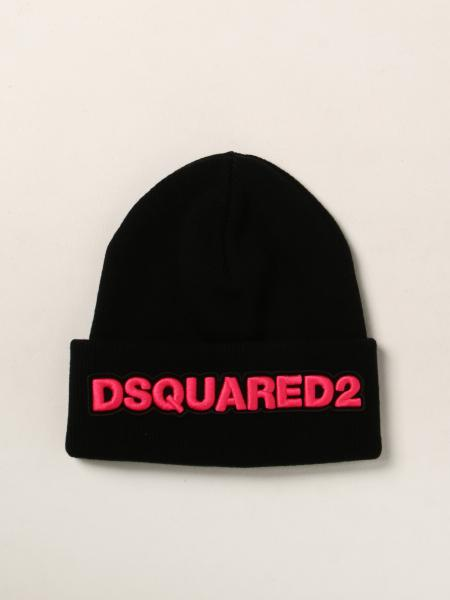 Dsquared2 bobble hat in wool