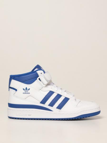 Sneakers Forum Mid Adidas Originals in pelle gommata