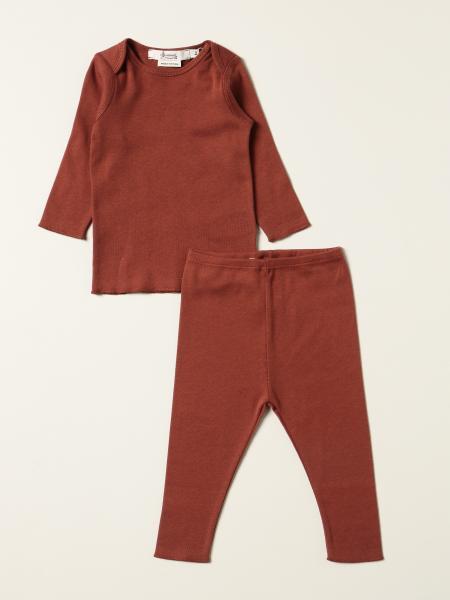 Bonpoint: Bonpoint t-shirt + leggings set in cotton