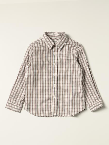 Bonpoint: Bonpoint checked cotton shirt