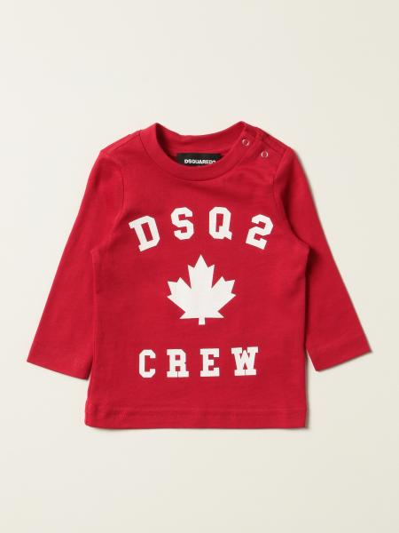 Dsquared2 Junior T-shirt with DSQ2 Crew logo