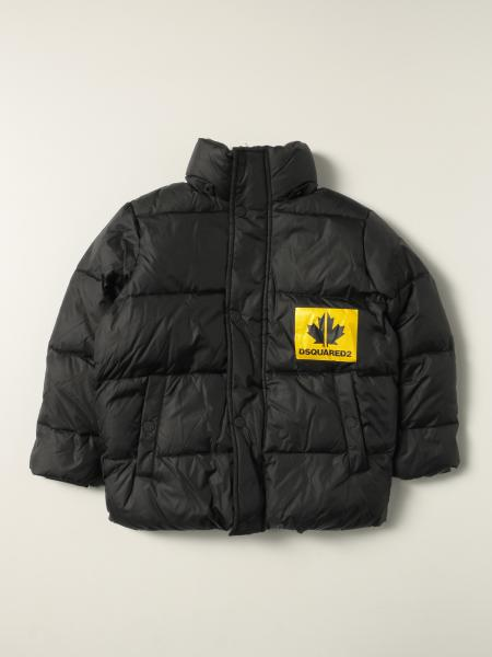 Dsquared2 Junior down jacket with logo