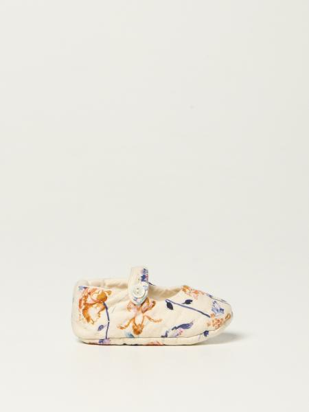 Bonpoint: Bonpoint crib shoes in fabric