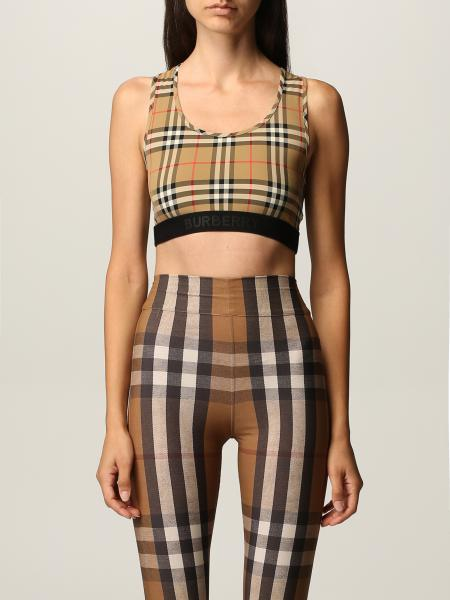 Burberry cropped top