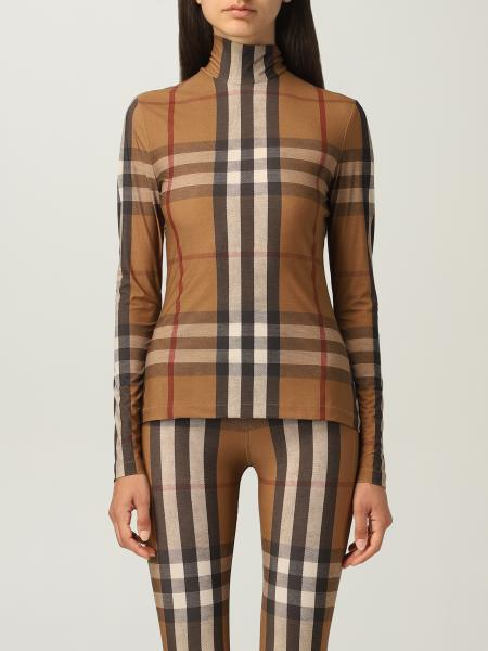 Burberry turtleneck in stretch jersey
