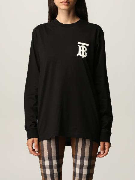 Burberry cotton T-shirt with TB logo