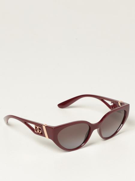 Dolce & Gabbana women: Dolce & Gabbana sunglasses with DG logo