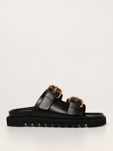 Moschino Couture leather sandals