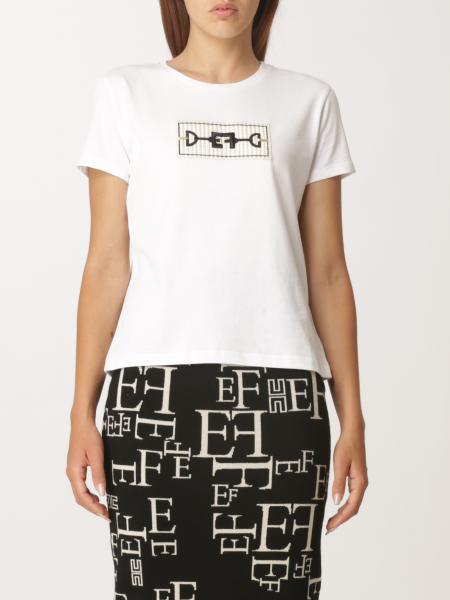 Elisabetta Franchi donna: T-shirt donna Elisabetta Franchi