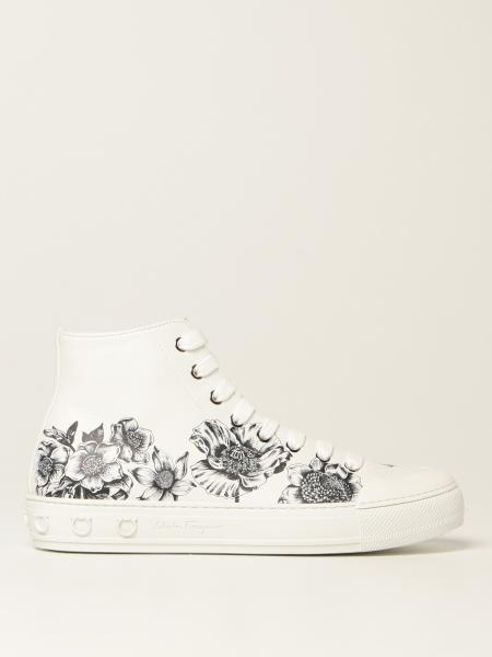 Nirvana Salvatore Ferragamo leather sneakers