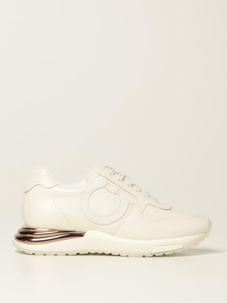 Salvatore Ferragamo Brooklyn leather sneakers