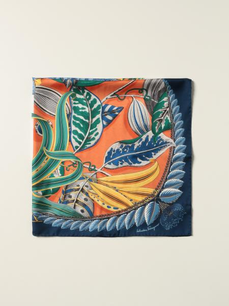 Salvatore Ferragamo: Salvatore Ferragamo printed foulard