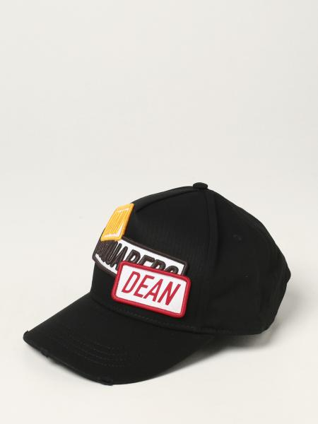 Dsquared2 men: Dsquared2 hat with patches