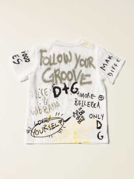 Dolce & Gabbana cotton T-shirt with all over prints
