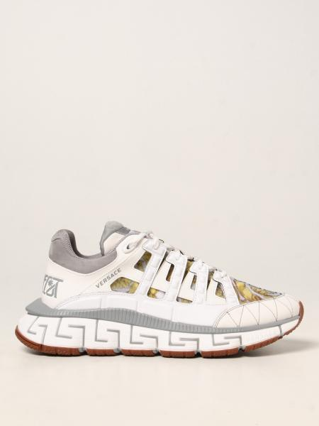 Versace uomo: Sneakers Trigreca Versace in nylon baroque