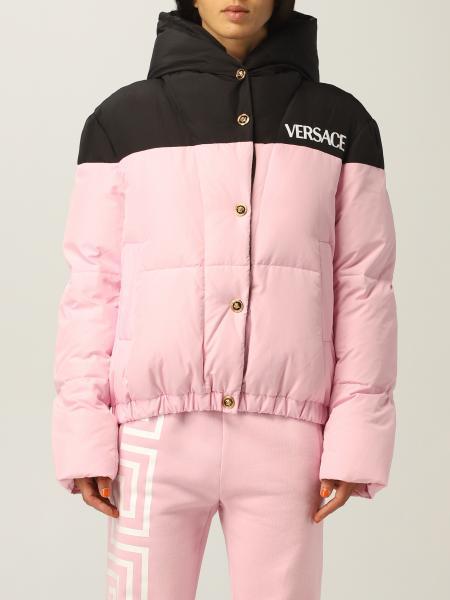 Piumino Versace in tessuto tecnico