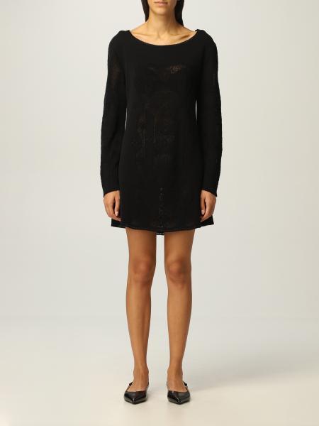 Alberta Ferretti knitted short dress