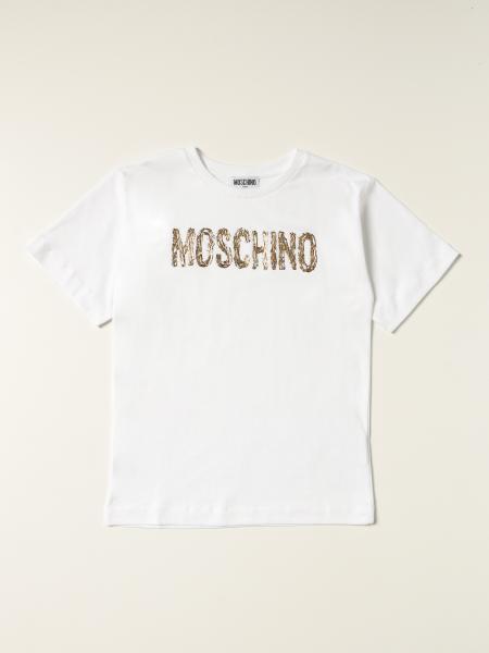 Moschino ДЕТСКОЕ: Футболка Детское Moschino Kid