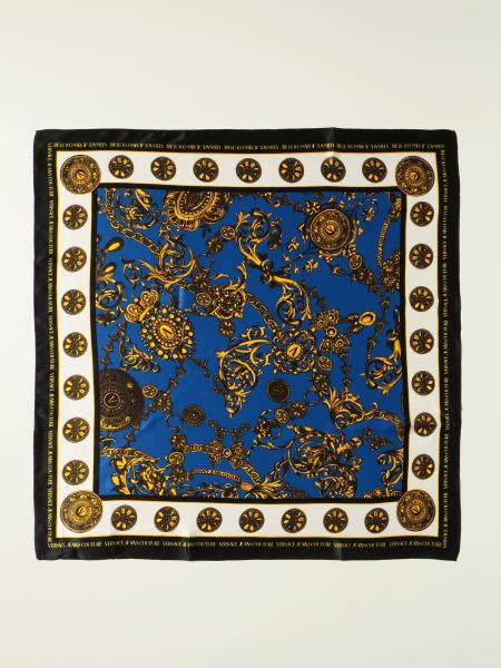 Versace Jeans Couture scarf with baroque print